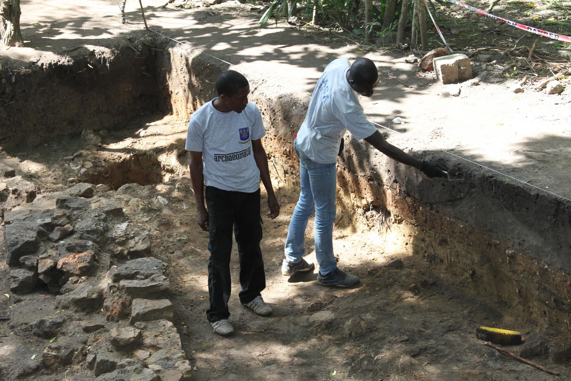Christiansborg Castel Archaeology Team