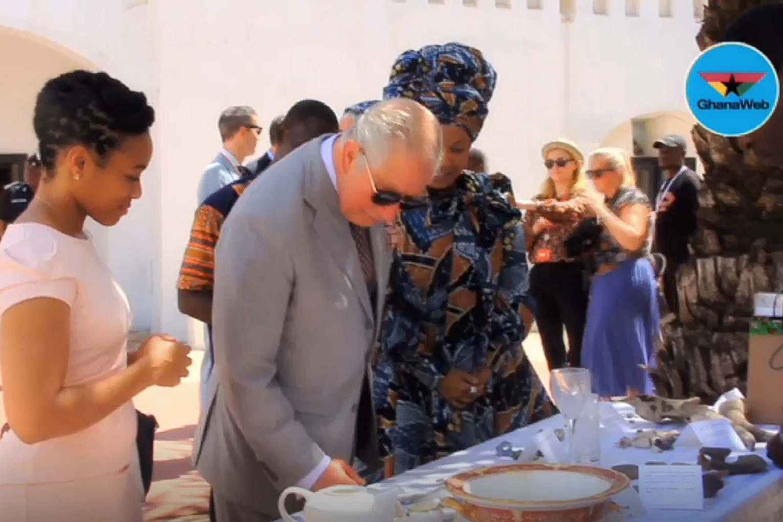 Prince Charles visits Christiansborg Castle 3 November 2018
