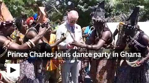 Daily Telegraph Prince Charles visit