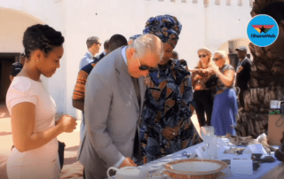 Prince Charles visits Christiansborg Castle 3 November 2018