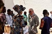 Prince Charles visits Christiansborg Osu Castle November 2018