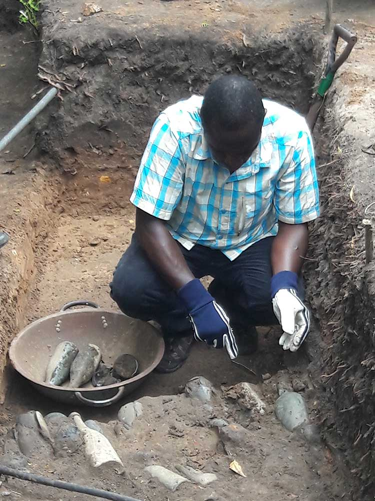 Christiansborg Osu Castle Excavation 2019