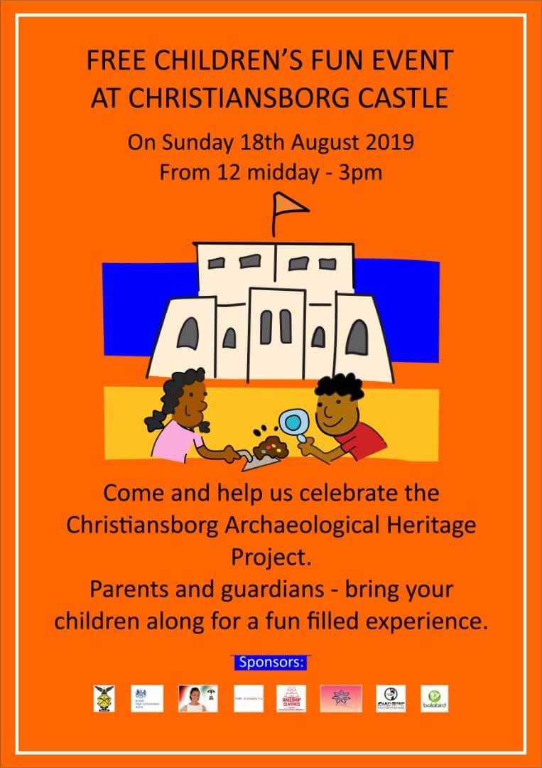 Children's Fun Event Christiansborg / Osu Castle - August 2019