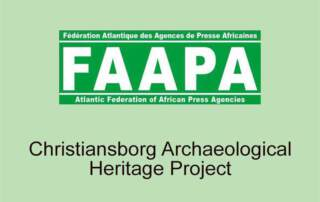 Atlantic Federation of African Press Agencies - Christainsborg Archaeological Project