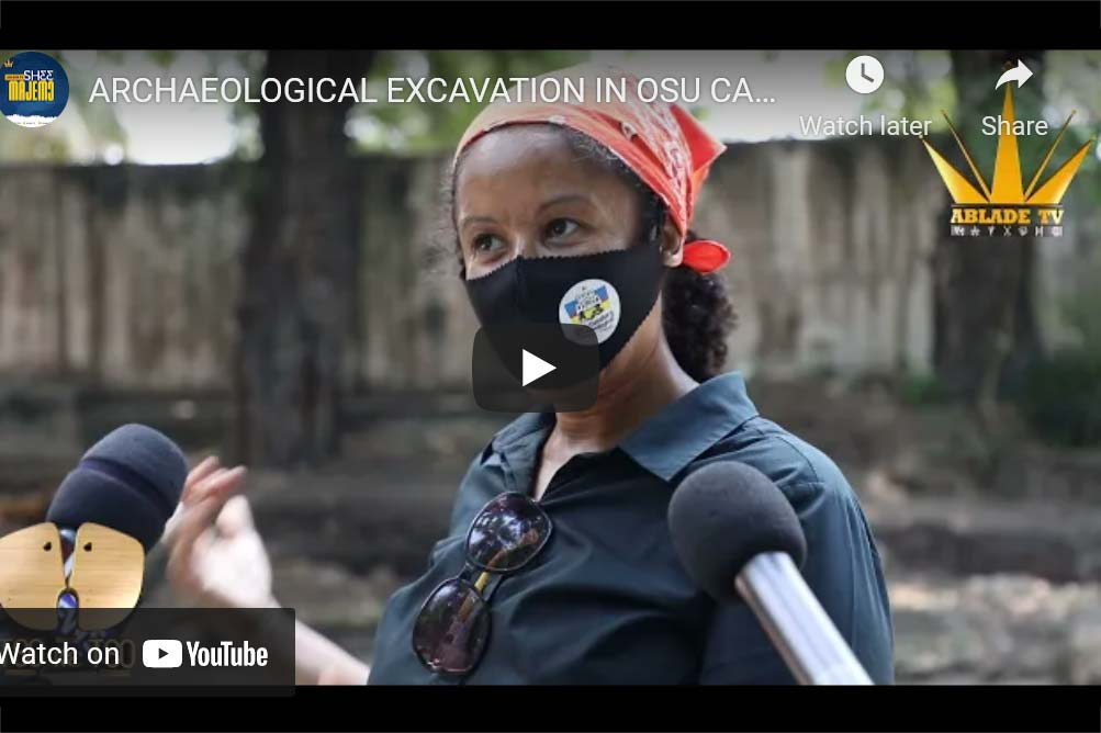 Archaeological Excavation in Osu Castle - Video